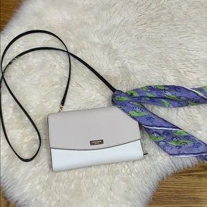 Kate Spade Black & Ecru Crossbody/Wallet